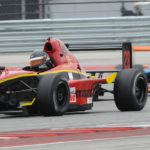 Formula Enterprises racer Liam Snyder on his way to victory Saturday at Circuit of the Americas.  Photo Credit: Mark Weber
