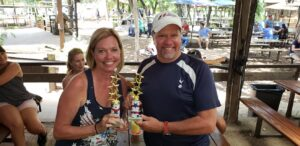 Winners at the Moontower Road Rally July 20, 2019